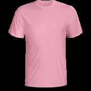 Áo cổ tròn màu hồng ( thân trước)