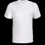 Áo cổ tròn màu trắng ( thân trước)