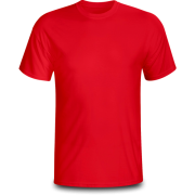 Áo cổ tròn màu đỏ ( thân trước)