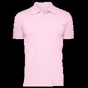 Áo cổ trụ màu hồng (thân trước)